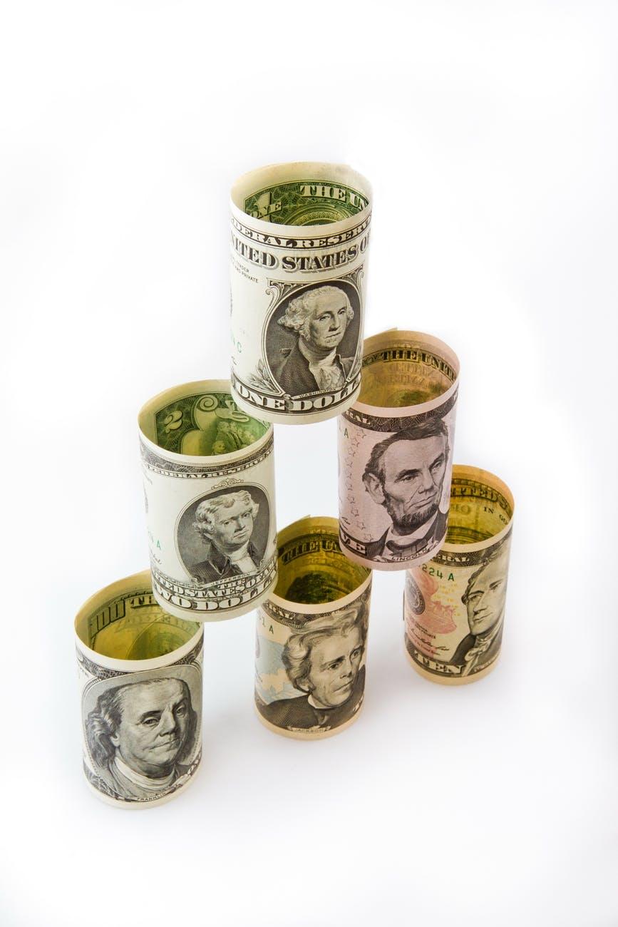 bank banknotes bill cash